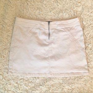 Blue Asphalt White Denim Jean Skirt Size 11/12